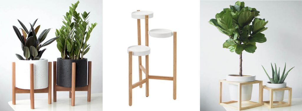 wooden plant stands Singapore