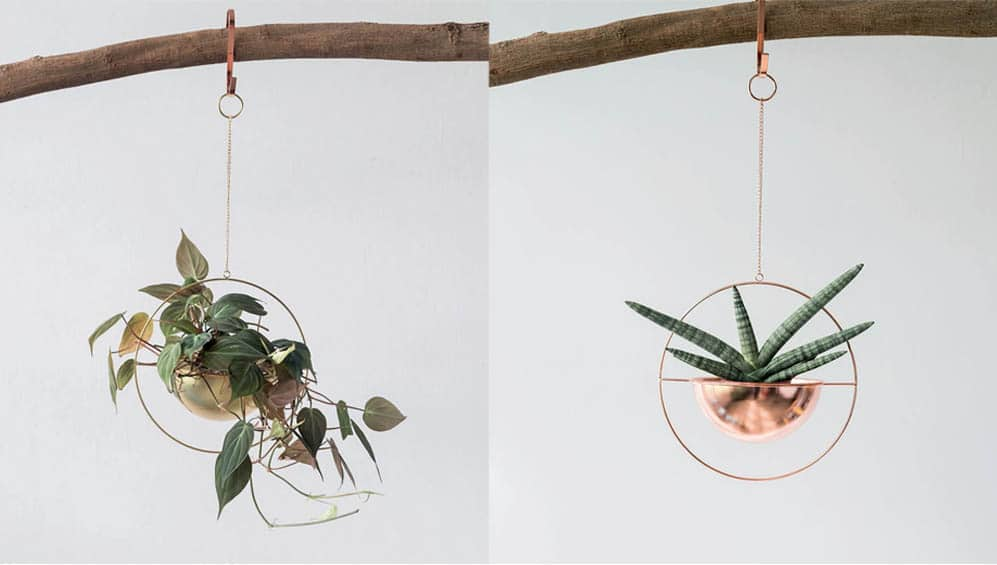 Metal hanging planter Singapore